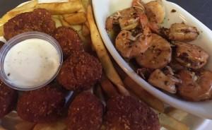 shrimp sirrachi chick frys